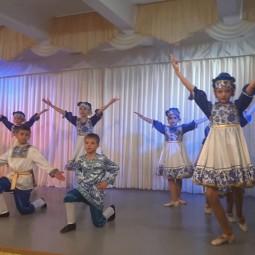 Класс-концерт хореографического коллектива «Ручеёк».