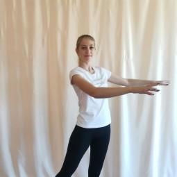 Онлайн занятие по хореографии «Игровая разминка для самых маленьких»