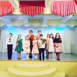 Класс-концерт вокального коллектива «Акварель».