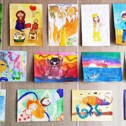 Выставка детских рисунков «Золотая осень»