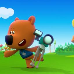 Показ мультфильма «Ми-ми-мишки: Мир будущего»