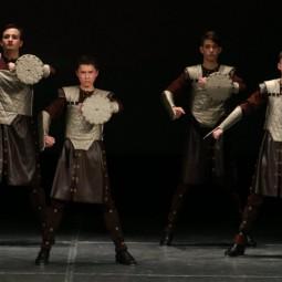 Показ записи хореографической композиции «Воины Кёрна»