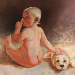 Выставка картин «Защити детей»