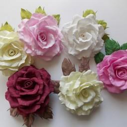 Мастер-класс «Цветы для букета»