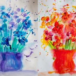 Мастер-класс «Рисуем цветы»