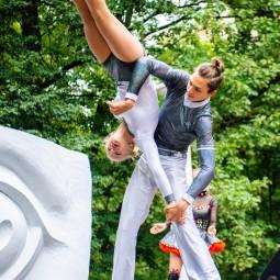 Мастер-класс по начальной акробатике