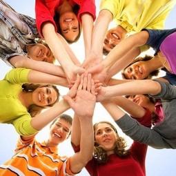«На крыльях юности» культурно–развлекательная программа, посвященная Дню молодежи