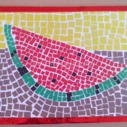 Мозаика арбуз