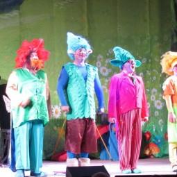 Театрально-цирковое шоу «Тролли и Белоснежка»
