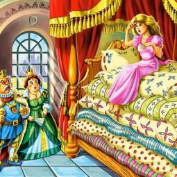 Онлайн-чтение сказки The Princess and the Pea