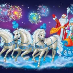 Праздник «Хорошо, что каждый год к нам приходит Новый год»