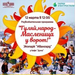 Театрализованная развлекательная программа «Гуляй, народ – Масленица у ворот!»