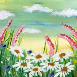 «Летние цветы» – мастер-класс