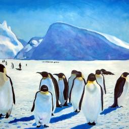 Рисунок «Пингвины»