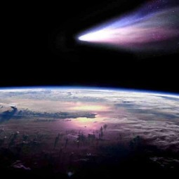 Видеорассказ «Солнечная система. Кометы». Виртуальный полет в космос