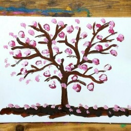 Виртуальный мастер-класс «Дерево желаний»