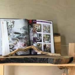 Выставка работ Д. Ситникова «Магия дерева»