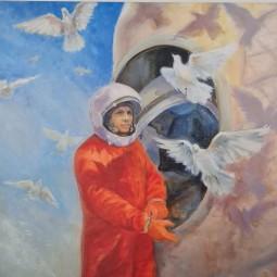Выставка постеров «Земля и Космос Владимира Джанибекова»