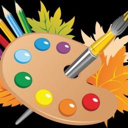 Выставка детских рисунков «Осенние пейзажи»