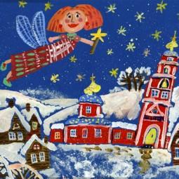 Выставка рисунков «Новый год и Рождество»