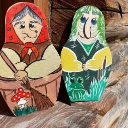 Мастер – класс по росписи деревянной заготовки «Сказочные герои»