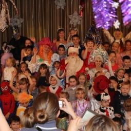 Театрализованное представление «Новогодние забавы»