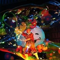 Шоу мыльных пузырей Селезнёвых
