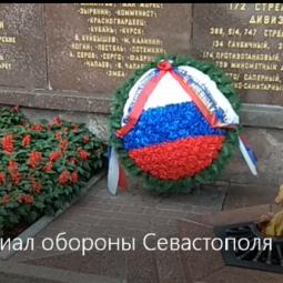 Видео публикация «Оборона Севастополя»