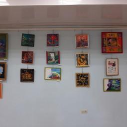 Выставка картин «Планета красочной фантазии»