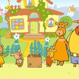 Спектакль «Оранжевая корова»