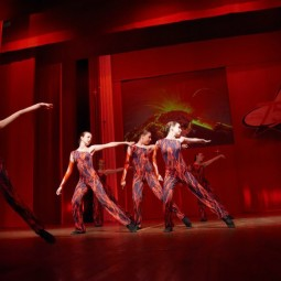 Показ записи хореографической композиции «Танец змей»