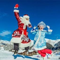 Фольклорный спектакль «Дед Мороз на каникулах»