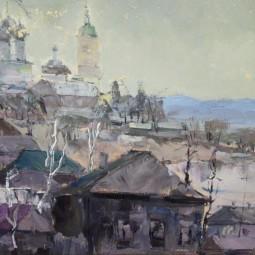 Выставка «Мой город, Серпухов» художника Вячеслава Гуляева