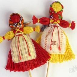 Открытый урок «Масленичная тряпичная кукла»