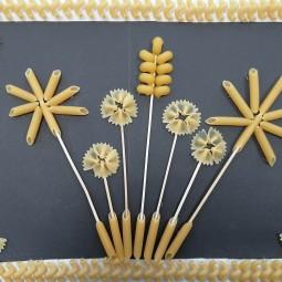 Онлайн мастер-класс «Цветы из макарон»