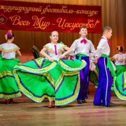 Показ записи народного танца «Мексиканский Новый год»