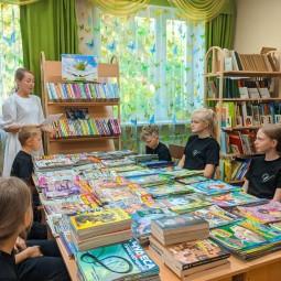 Читальный зал (совместные чтения, обзор книжных новинок)