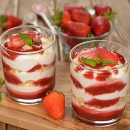 Мастер-класс десерта «Клубничный трайфл»