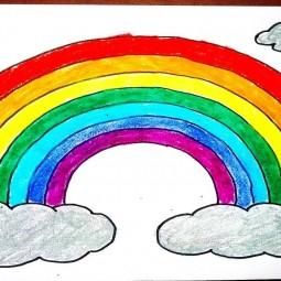 Программа «Рисуем радугу»