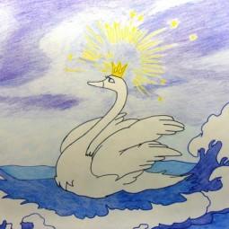 Мастер-класс «Царевна Лебедь»