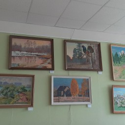 Выставка картин «Знакомая и незнакомая Дубна»