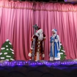 Театрализованное представление «Новый год под колпаком»