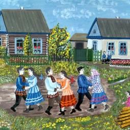 Праздничный концерт«И нет в целом мире прекрасней родимой деревни моей».