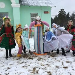Народное гулянье «Ходит с песней и задором Масленица по Руси»