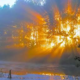 Виртуальная фотовыставка «Восходы Подмосковья»
