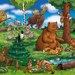 Викторина «Кто в лесу живет, что в лесу растет»