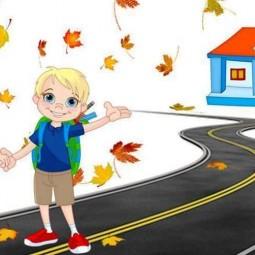 Виртуальная встреча «Дорога в школу и домой»