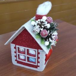 Онлайн-выставка «Новогодний домик»