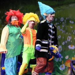 Цирковое шоу «Тролли и Белоснежка»