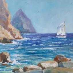 Выставка «Крым. Путешествие с этюдником»